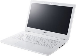 Acer Aspire V3-371 Subnotebook weiß, 33,8cm/13,3Zoll mattes Display, Intel Core i3-4005U
