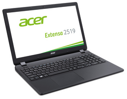 Acer Linux-Notebook Extensa 2519-P3B8, 39,6cm/15,6 Notebook, Intel Pentium N3710 1,6 GHz