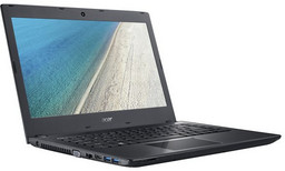 Acer Travelmate P249M Linux-Notebook mit Intel Core i3-6006, 35,6cm/14 non-glare HD, WLAN 802.11ac/BT 4.0