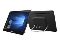 Asus lüfterloser All-in-One Linux-PC A41GAT Farbe schwarz, 39,6cm/15,6Zoll HD-Display, Intel Celeron N4000