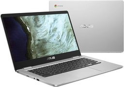 Refurbished: Asus Chromebook C523NA, Intel Celeron N3350 (Apollo Lake Dualcore) 1,1-2,4 GHz, 39,6cm/15,6Zoll FullHD non-glare