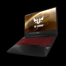 Asus TUF Gaming-Notebook FX505DY mit AMD Ryzen 5 3550H, 8 GB DDR4 RAM/512 GB PCIe x4 SSD