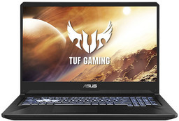 Asus TUF Gaming-Notebook FX705DT mit AMD Ryzen 5 3550H + Nvidia GTX1650, 8 GB DDR4 RAM/512 GB PCIe SSD