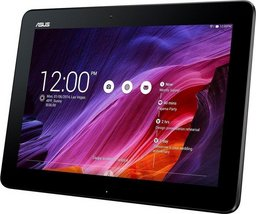 Refurbished: Asus Memo Pad ME103K schwarz, Snapdragon Quadcore CPU 1.5 GHz, 1GB RAM, 64GB SSD, Android 4.4