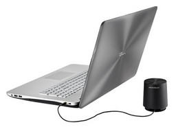 Asus N750JK Multimedia-Notebook Alu, 17,3 Zoll FullHD-Display, 1,5TB HDD/12GB RAM/256 GB SSD, incl. externem Subwoofer