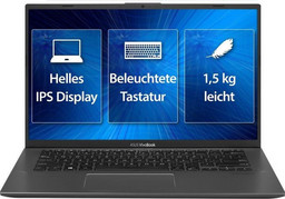 Asus Linux Business-Notebook P3400FA Intel QuadCore i5-8265U, 35,6 cm/14 Zoll FullHD TFT matt, 8 GB RAM/256GB SSD