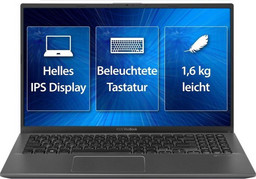 Asus Linux Business-Notebook P3500FA Intel QuadCore i5-8265U Coffee Lake, 39,6cm/15,6Zoll FullHD TFT entspiegelt, 8 GB RAM/256GB SSD