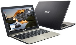 AsusPro Light P541UA Linux-Notebook mit Intel Core i3-6006U (7. Gen.), mattes Display 39,6cm/15,6Zoll, 8GB RAM/1TB HDD