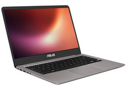 Asus Ultrabook UX3410UA mit Intel Core i7-8550U (Coffee Lake), 35,6cm/14Zoll FullHD-Display matt, bel. Tastatur, 8GB RAM/256GB SSD+1 TB HDD
