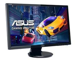 Asus VE248HR  61cm(24 Zoll) TFT 2ms, 1920x1080 Full-HD 16:9, schwarz, Speaker, DVI/VGA/HDMI
