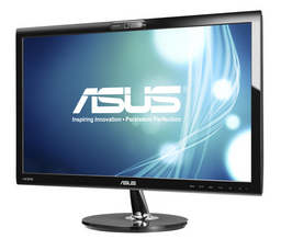 Monitor 54.6cm(21.5Z) VK228H, 5ms, FullHD 1920x1080, LED, Webcam 1 MPixel, HDMI+DVI+VGA, Speaker