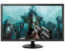 Asus VP278Q LED-TFT 27 Zoll (68.6 cm), 1ms, 1920x1080 Full-HD, Speaker 2x2W, VGA, DisplayPort, 2xHDMI