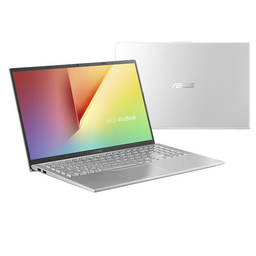 Asus Linux Notebook X512FA Intel DualCore i3-8145U Farbe silber, 39,6cm/15,6Zoll FullHD TFT entspiegelt