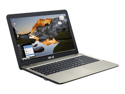Asus Linux-Notebook F541NA, Intel Celeron N3350 (Apollo Lake Dualcore) 1,1-2,4 GHz, 39,6cm/15,6Zoll non-glare TFT