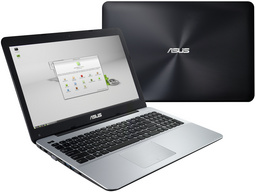 Asus X555LJ Linux-Notebook, Intel Core i5-5200U + Nvidia GT920M, 8GB RAM/2TB HDD, 39,6cm/15,6Z Display spiegelnd