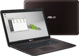 Asus X756UQ Linux-Notebook 44cm/17,3 HD+ glare, Intel i5-7200U (Kaby Lake), Nvidia GT940MX