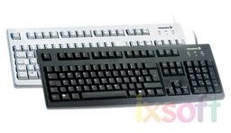 Windows-Keyboard G83-6188 Deutsch, USB 2.0, Farbe grau
