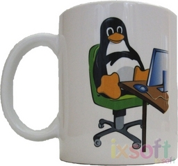 Linux-Kaffeetasse Easy Going 2.0