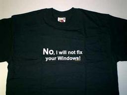 T-Shirt Fix Windows