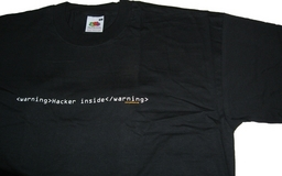 T-Shirt Hacker Inside