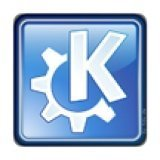 KDE-Logo - PC-Sticker 3D (Case Badge) 25x25mm