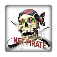 Net Pirat PC-Sticker