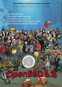 OpenBSD 5.8 (Original-Version)