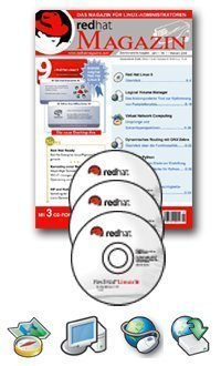 Red Hat Magazine Collector's Pack (8 Ausgaben) + Red Hat Professional Workstation