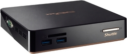Shuttle Nano-PC NUC NC03U5 mit Intel Core i5-7200U Dualcore-CPU
