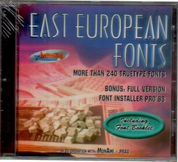East European Fonts