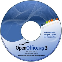 OpenOffice 3.2.1 Prooo-Box CD Linux RPM-Pakete, Deutsch